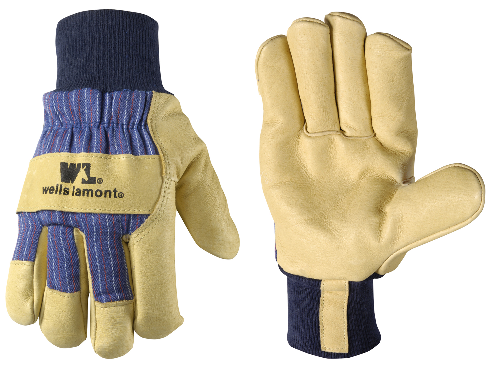 Wells Lamont Leather Palm Work Gloves - All-weather Work