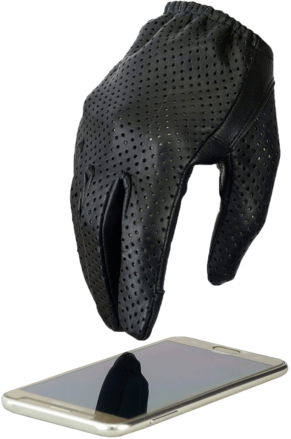 Hugger Men's Breathable Touchscreen Leather Gloves review