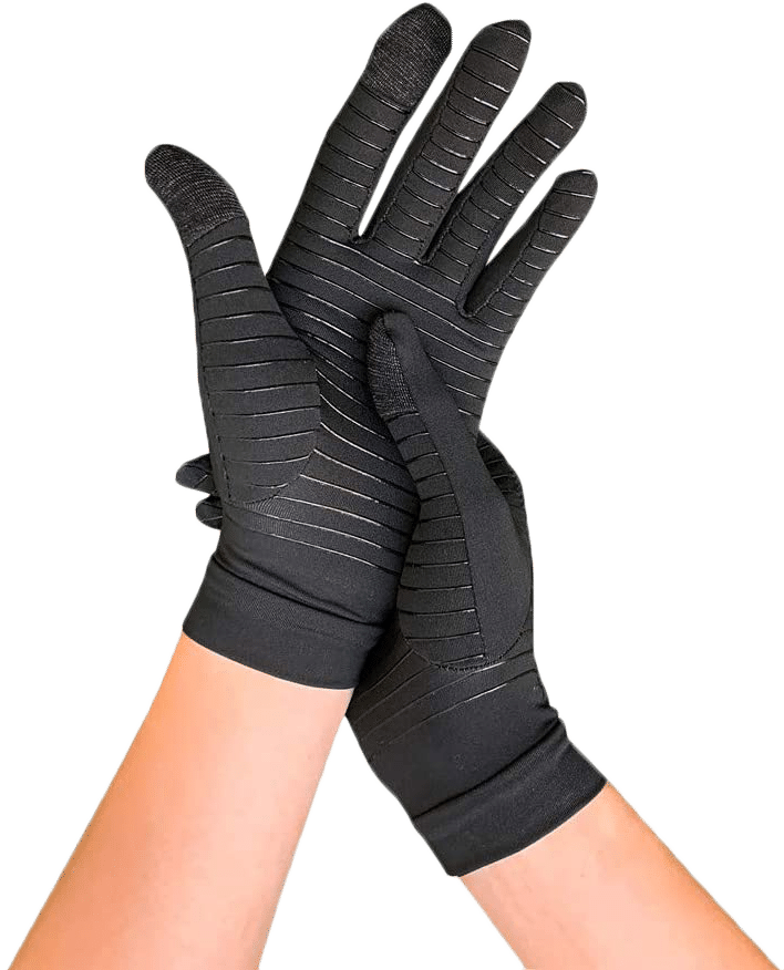 Copper Infused Full Finger Compression Gloves review