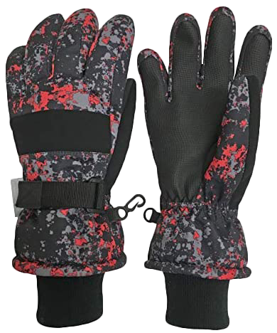 N'Ice Caps Kids Cold Weather Waterproof Gloves- Best for Kids
